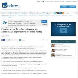 Estrategias de Enseñanza Basada en Aprendizaje Significativo (Primera Parte) - Pedagogía