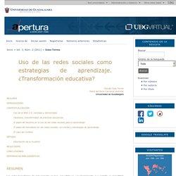 DocentesConectadosUsodedispositivismóvilesenelaula Redes Sociales: Uso de las redes sociales como estrategias de aprendizaje. Islas Torres