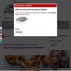 RECETA HEALTHY/ MiniPizzas estrelladas - FITFOODMARKET