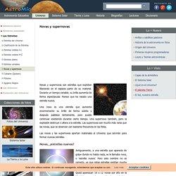 Estrellas Novas y supernovas