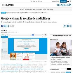 Google estrena la sección de audiolibros