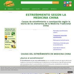 Estreñimiento según la Medicina China