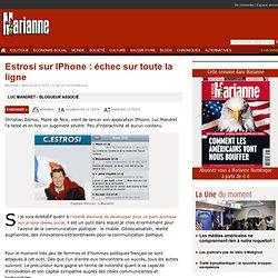 Estrosi sur IPhone : échec sur toute la ligne
