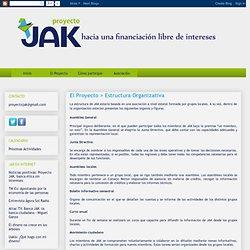 Proyecto JAK: El Proyecto > Estructura Organizativa