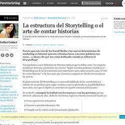 La estructura del Storytelling o el arte de contar historias
