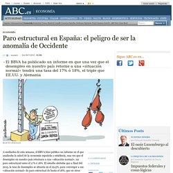 Paro estructural en España: el peligro de ser la anomalía de Occidente