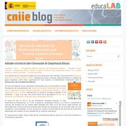 Indicador estructural sobre Consecución de Competencias Básicas