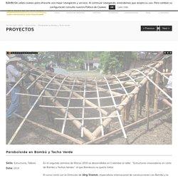 Bambú - Estructuras tridimensionales - Bambusa Estudio