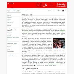 GELA : Grup d'Estudi de Llengües Amenaçades