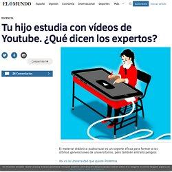 Tu hijo estudia con vídeos de Youtube. ¿Qué dicen los expertos?