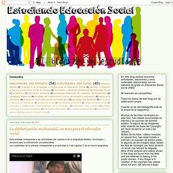 estudiando educación social: La alfabetización multimodal, un reto para el educador social.