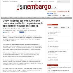 CNDH investiga caso de bullying en contra de estudiante con problemas de aprendizaje enjaulado en Tabasco