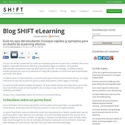 Guíe los ojos del estudiante: Consejos rápidos (y ejemplos) para un diseño de eLearning efectivo