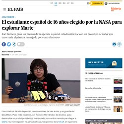 Joel Romero: El estudiante español de 16 años elegido por la NASA para explorar Marte
