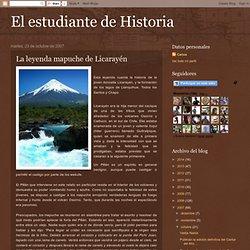La leyenda mapuche de Licarayén