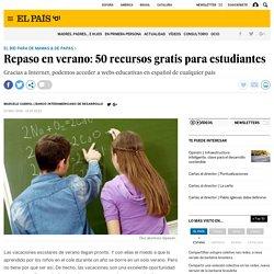 Cursos: Repaso en verano: 50 recursos gratis para estudiantes
