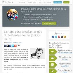 13 Apps para Estudiantes que No te Puedes Perder (Edición 2016) #docentesconectados