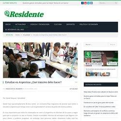 Estudiar en Argentina: ¿Qué trámites debo hacer? - El Residente