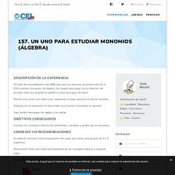157. Un UNO para estudiar monomios (álgebra) – Catàleg d'Experiències Lúdiques