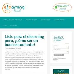 Cómo estudiar en línea, online, elearning