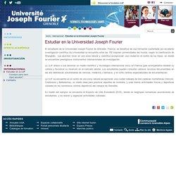 Estudiar en la Universidad Joseph Fourier