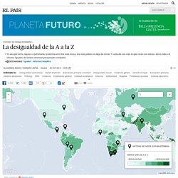 Estudio de Oxfam Intermón: La desigualdad de la A a la Z