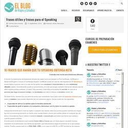 Viajes y Estudios. Blog cursos de idiomas Frases y trucos para una Speaking perfecto - Blog Viajes y Estudios