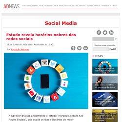 Estudo revela horários nobres das redes sociais - ADNEWS