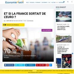 Et si la France sortait de l'euro?