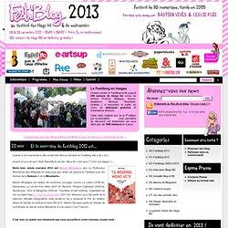 Et la marraine du Festiblog 2012 est... - Festiblog 2011 = Festival des Blogs BD et du Webcomics -> Festival de la BD numérique et de la BD du web