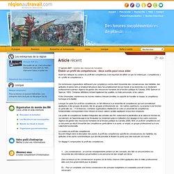 Établir un profil de compétences : deux outils pour vous aider - Région au Travail