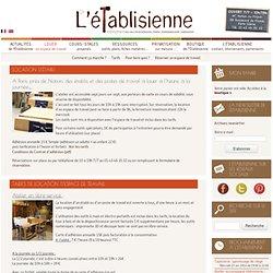 L'Établisienne, le lieu pour rénover, fabriquer, réparer, personnaliser... à Paris : atelier en libre-service, co-working, cours et stages, dépôt-vente.