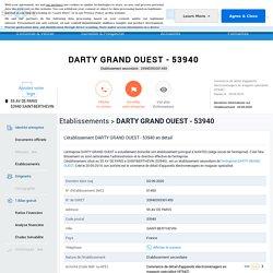 Etablissement DARTY GRAND OUEST à SAINT-BERTHEVIN (53940) sur SOCIETE.COM (33940393301450)