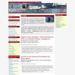 [Lycée Arthur Varoquaux - E3D : Etablissement en démarche de développement durable - Agenda 21 scolaire]