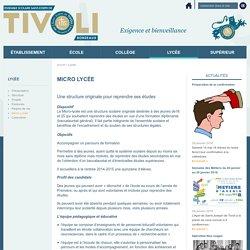 Etablissement Saint Joseph de Tivoli