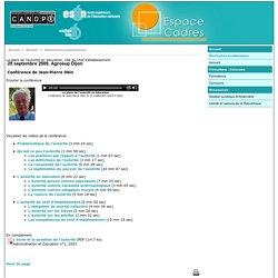 La place de l'autorité en éducation, rôle du chef d'établissement - Canopé académie de Dijon