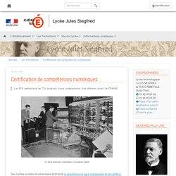Etablissements de Paris - Certification de compétences numériques