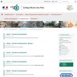 Etablissements de Paris - Collège Moulin des Prés