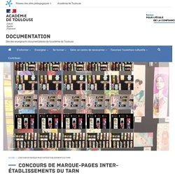 Concours de marque-pages inter-établissements du Tarn