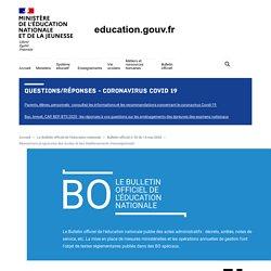 Réouverture progressive des écoles et des établissements d'enseignement