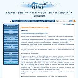 Etablissements Recevant du Public - HSCT2