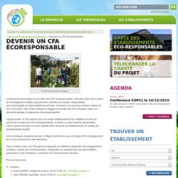 Etablissements Eco-Responsables