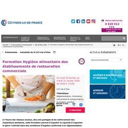 Formation Hygiène alimentaire des établissements de restauration commerciale