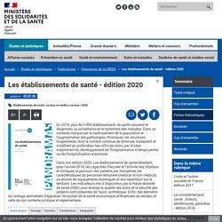 DREES-Les établissements de santé - édition 2020