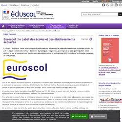 L'ouverture internationale - Euroscol : le Label des écoles et des établissements scolaires