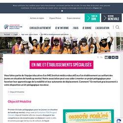 Agir en IME et établissements spécialisés – APR