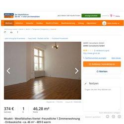 1 Zimmer Etagenwohnung in Berlin mit 46,28 qm (ScoutId 74006305)