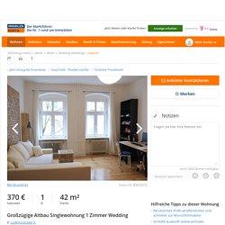 1 Zimmer Etagenwohnung in Berlin mit 42 qm (ScoutId 85825572)