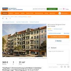 1 Zimmer Etagenwohnung in Berlin mit 31 qm (ScoutId 85857273)