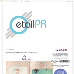 etailPR Blogspot: etailPR welcome Nica, Fiorelli and Modalu